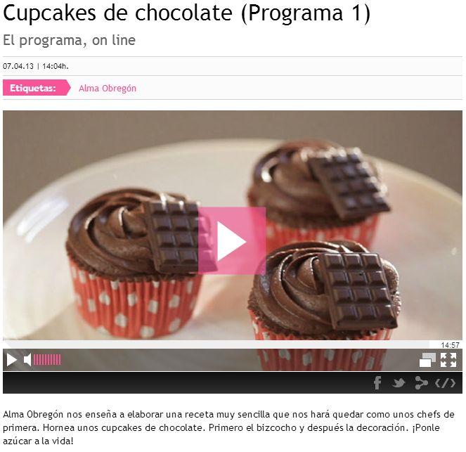Cupcakes de Chocolate 1